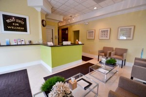 View of the waiting room at the Delray Center for Recovery / Delray Center for Wellness